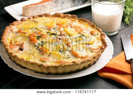 Traditional French Quiche