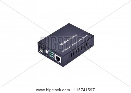 Fiber Optic Media Converter With Metalic Rj45 Connector And Fc Fiber Optic Connector