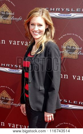 KaDee Strickland at the John Varvatos 9th Annual Stuart House Benefit Presented By Chrysler And Hasbro held at the John Varvatos Boutique, California, United States on March 11, 2012.