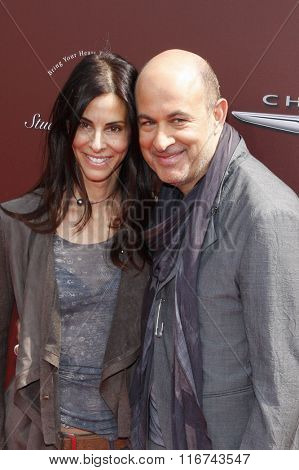 John Varvatos and Joyce Varvatos at the John Varvatos 9th Annual Stuart House Benefit Presented By Chrysler And Hasbro held at the John Varvatos Boutique, California, United States on March 11, 2012.
