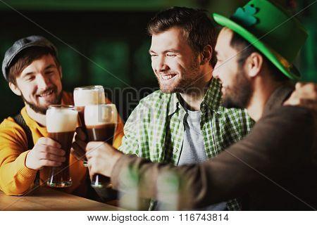 Men in tavern