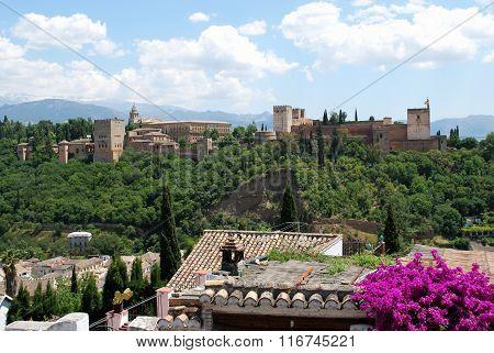 Palace of Alhambra, Granada.