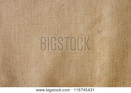 Vintage Beige Fabric Texture, Background.