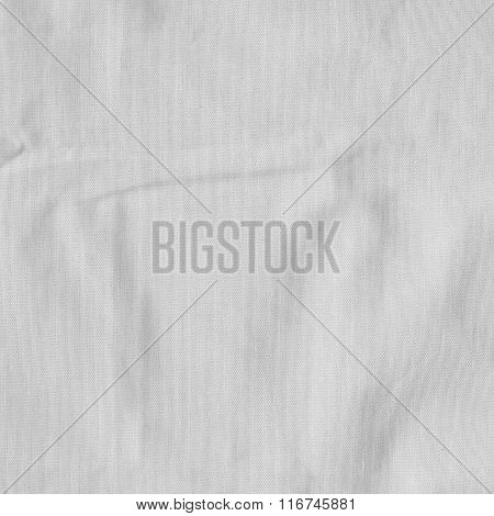 White Canvas, Fabric Texture, Background.