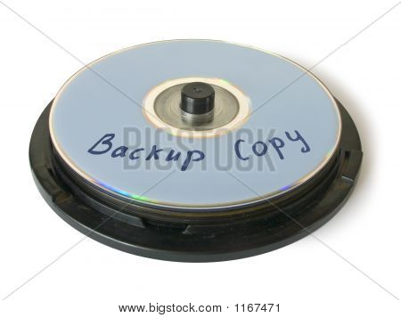 Box With Cd - Backup Copy