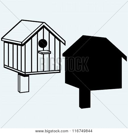 Bird houses, nesting box