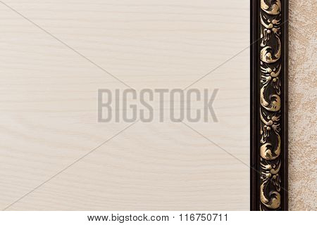Background With Light Wooden Texture