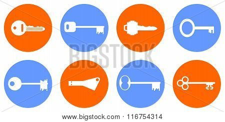 Keys Icon Set