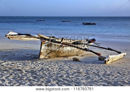 Boats On The Beach