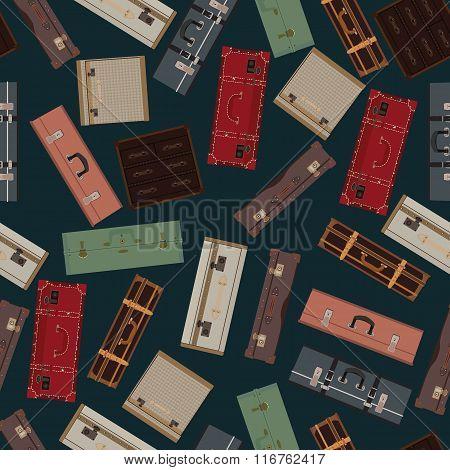 Dark Seamless Pattern Bags