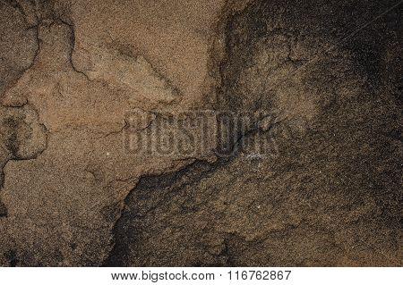 Dark Marble Texture Horizontal Background