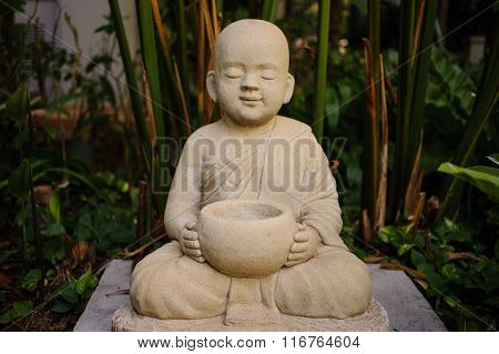 The Stone Craft Of Monk Doll