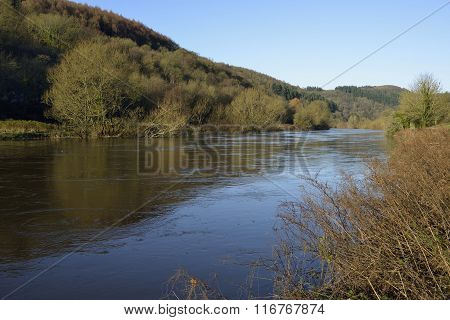 River Wye At High Water