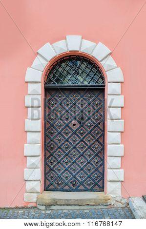 Old Cathedral Metal Door