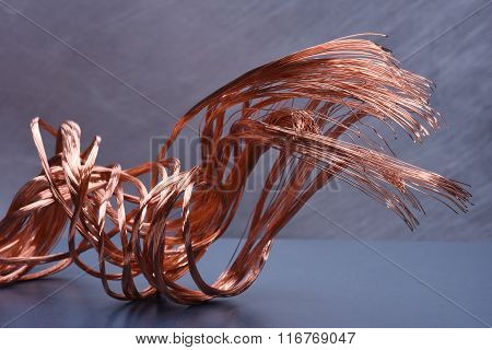 Copper wire concept of industry development