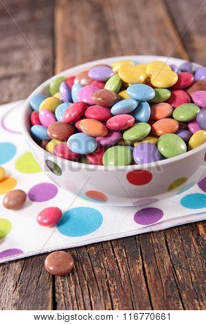 colored smarties