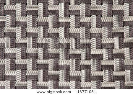 Nylon Weaving Pattern Backgroud