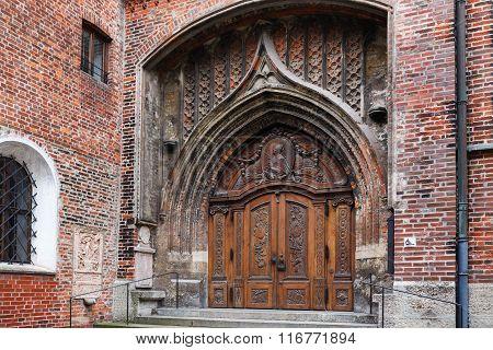 Door In Frauenkirche
