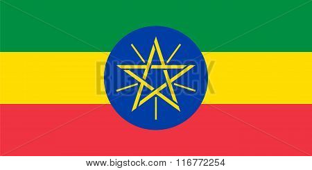 Standard Proportions For Ethiopia Flag