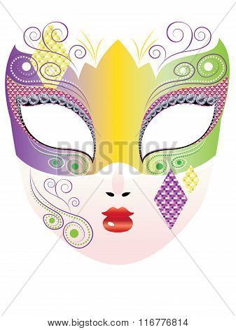 Decorative Carnival Mask
