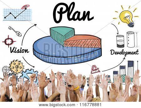 Plan Ideas Development Graph Concept