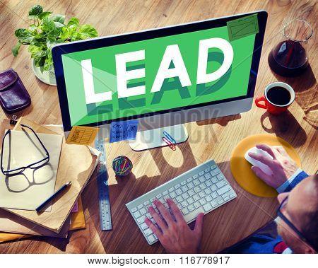 Browsing Network Internet Lead Leadership Concept