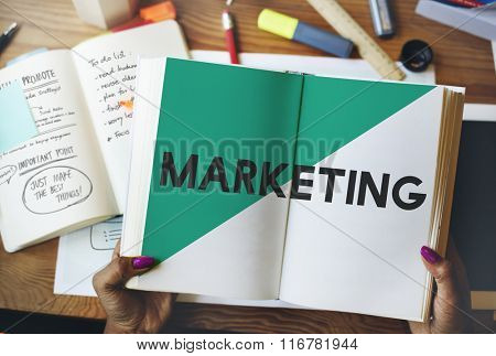 Ideas Creative Brand Marketing Plan Concept