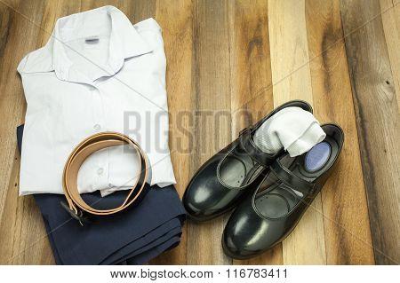 Thai Student girl uniform