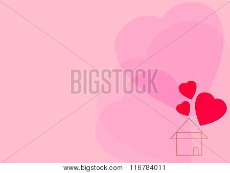 Heart And Home Icon