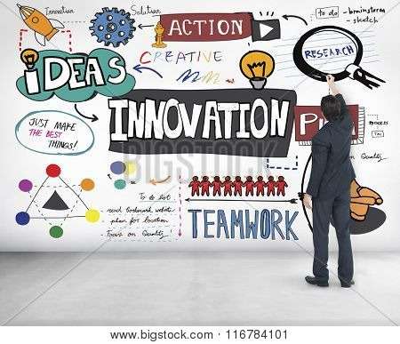 Innovation Innovate Invention Development Design Concept