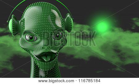 Green Humanoid