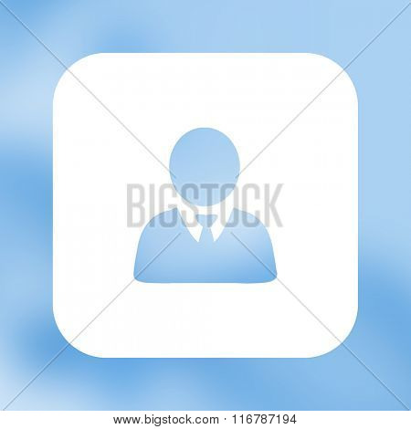 Businessman with green background against medical background with blue dna helix