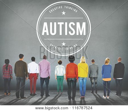 Autism Learning Disability Mental Condition Concept