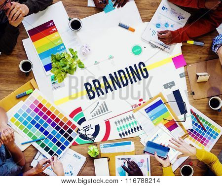 Branding Brand Advertising Copyright Marketing Concept