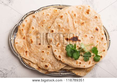 Homemade Chapati (indian Bread)