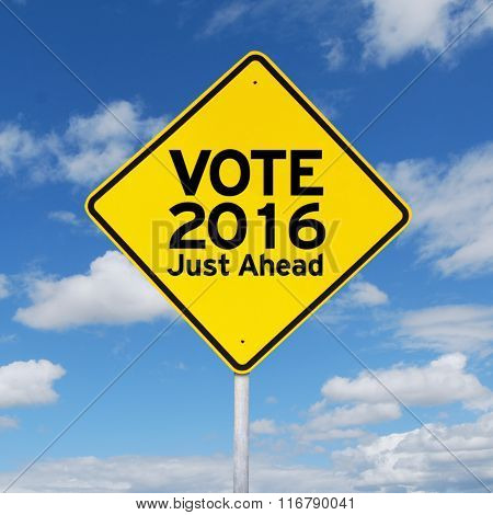 Signpost Guide To Vote 2016 Just Ahead