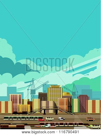 Cityscape View Of The City