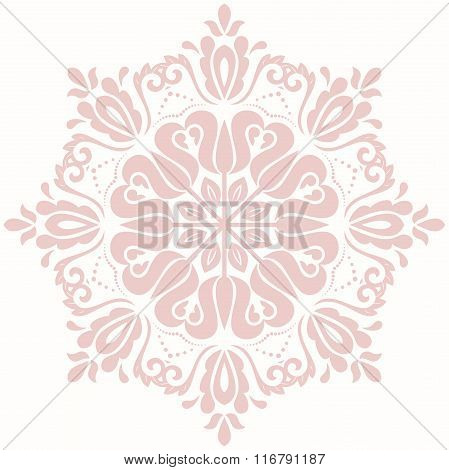 Oriental Abstract Vector Pattern