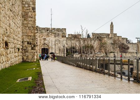 Jaffa Gate, Old City Of Jerusalem, Israel
