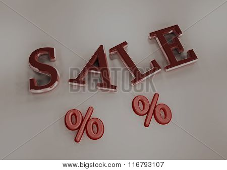 Dimensional Inscription Of Sale