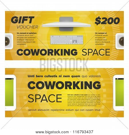 Gift voucher for coworking space
