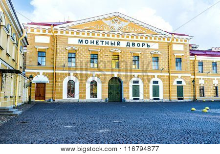 The Saint Petersburg Mint Facade