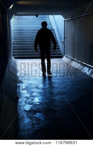 Into the dark Tunnel