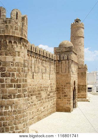 Ribat (fortress) In The Town Of Sousse. Tunisia