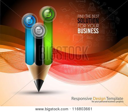 Brochure template, Flyer Design and Depliant Cover for business presentation and magazine covers.