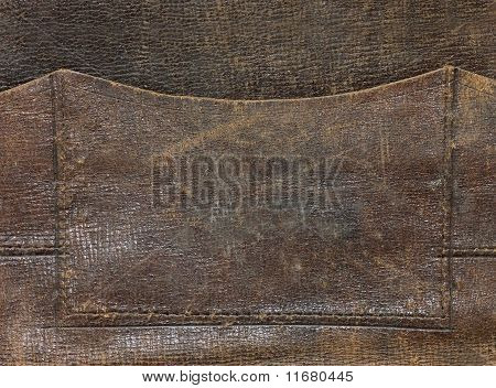 Old leather As A Background