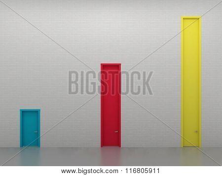 Three High Doors 2