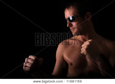 model boxer