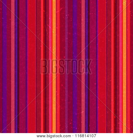 Vertical Stripes Pattern, Seamless Texture Background. Pink, Purple, Red Colors. Ideal For Printing