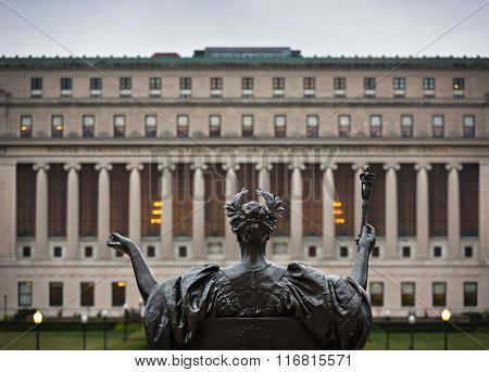 Alma Mater Of Columbia University, New York City, Usa